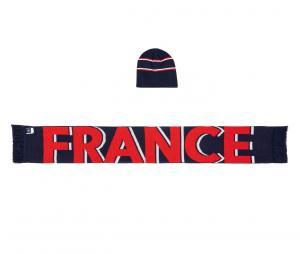 Coffret Bonnet + Echarpe France Bleu