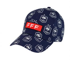 Casquette France All Over Bleu Junior