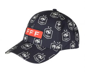Casquette France All Over Bleu