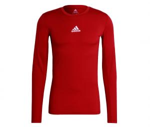 Maillot adidas Techfit Compression Rouge