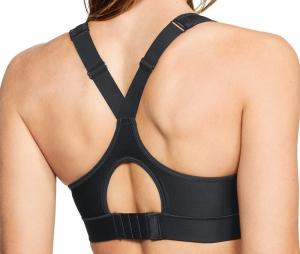 Brassière de sport Under Armour Warp Knit High Sports Femme Noir