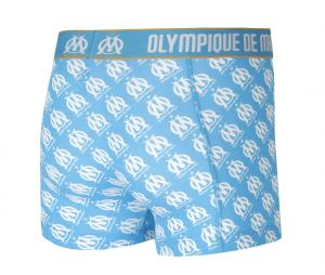 Set of 2 Boxers OM White/Blue