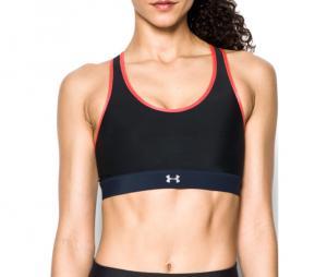 Brassière Sport Under Armour Mid réversible Femme Noir