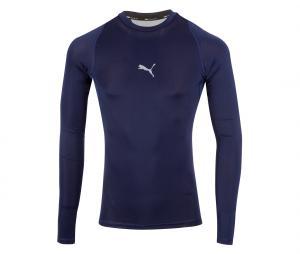 T-shirt Manches Longues Puma Baselayer Bleu