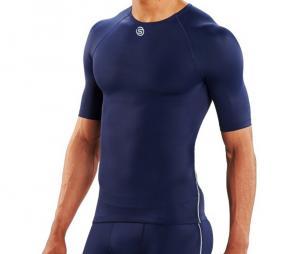 Tee-shirt de compression DNAmic TEAM bleu
