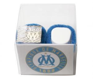 Baby Slippers OM Blue/White