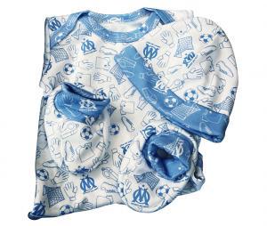 OM Baby Boy Birth Set White/Blue