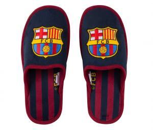 Pantoufles FC Barcelone Bleu Junior