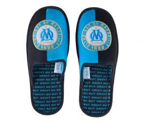 Kid's Slippers OM Fan Black/Blue