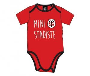 Body Mini Stadiste Stade Toulousain rouge