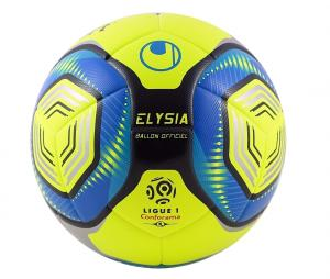 Ballon Uhlsport Elysia Officiel 2019/20 T.5 Jaune/Bleu