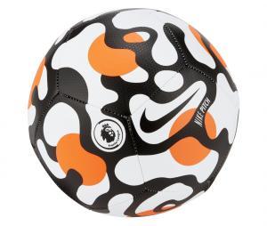 Ballon Nike Premier League Pitch T.5 Blanc/Noir/Orange