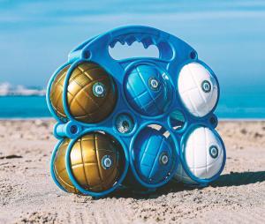 6 boules de Pétanque OM Junior
