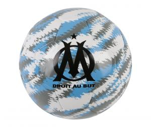 Ballon Puma OM Iconic Big Cat T.5 Blanc/Bleu/Noir