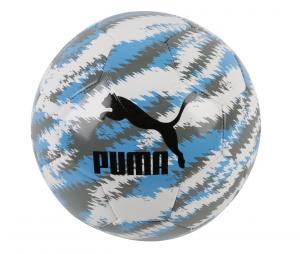 Ballon Puma OM Iconic Big Cat T.5 Blanc/Bleu/Noir