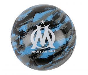 Balón de fútbol Puma OM Iconic Big Cat Talla 5 Negro/Azul