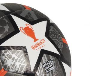 Ballon Entraînement adidas UEFA Champions League Finale 21, 20ème Anniversaire T.5, coloris Gris.
