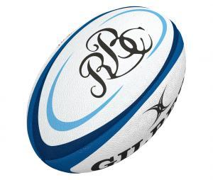 Ballon Gilbert Barbarians T.5 Blanc/Bleu