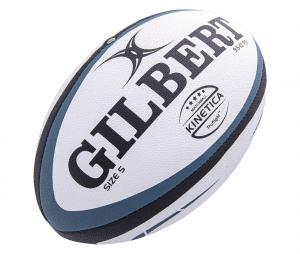 Ballon Gilbert Match Kinetica T.5 Blanc/Bleu