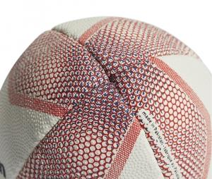 Mini ballon rugby Nouvelle-Zélande blanc
