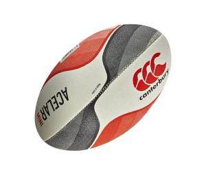 Mini ballon rugby Acelar Canterbury Blanc/rouge