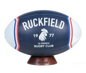 Ballon Ruckfield French Club Rugby T.5 Bleu/Blanc