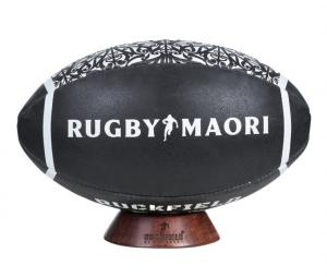 Ballon Ruckfield Rugby Maori T.5 Noir