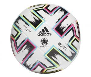 Ballon Entraînement adidas Uniforia UEFA Euro 2020 T.5 Blanc