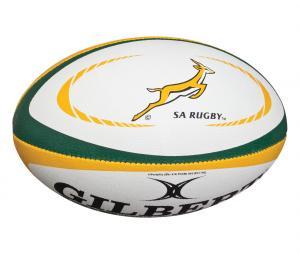 Ballon Replica Gilbert Afrique du Sud T.5 Blanc