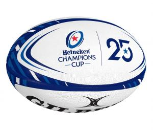 Ballon Replica Gilbert Champions Cup T.5 Blanc