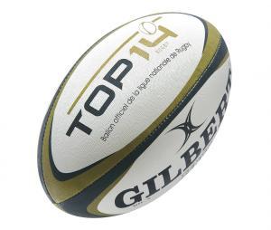Ballon Gilbert Top 14 G-TR4000 T.5 Blanc