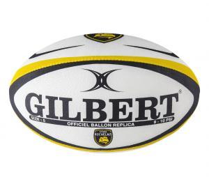 Ballon Gilbert Replica Stade Rochelais T.5 Blanc