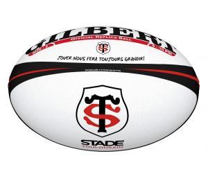 Ballon Replica Gilbert Stade Toulousain T.5 Blanc