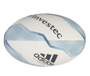 Ballon de rugby adidas All Blacks Blanc/Bleu