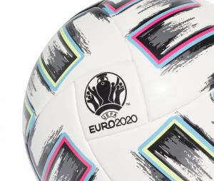 Ballon adidas Uniforia Competition UEFA EURO 2020 T.5 Blanc