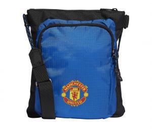 Sac à bandoulière adidas Manchester United Bleu/Noir