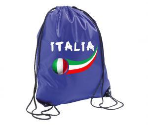 Sac de Gym Italie Bleu