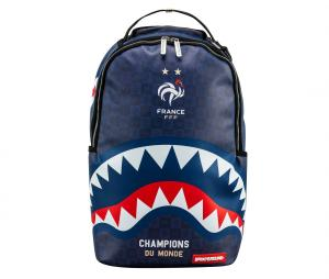 Sac à dos Sprayground France Sharks Camo Bleu