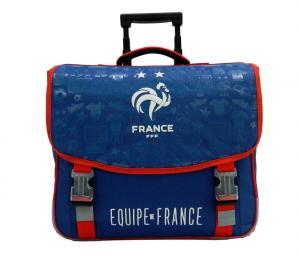 Cartable à roulettes France Bleu Junior