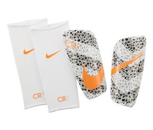 Protège-tibias Nike Mercurial Lite CR7 Safari Blanc