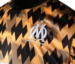 OM Showdown Influence Men's Football Shirt Black/Orange
