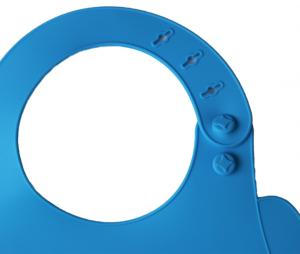 Babero OM silicona Azul