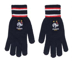 Gants Supporter France Logo Bleu Junior