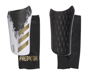 Protège-tibias adidas Predator 20 Compétition Noir/Blanc
