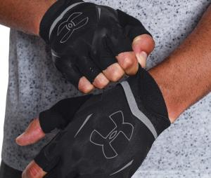 Mitaines Under Armour Flux Grip training Noir