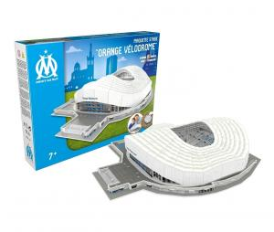OM Orange Velodrome 3D Stadium Model with LED