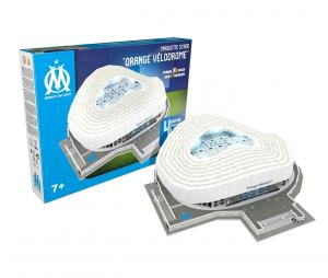 Maquette Stade 3D OM Orange Velodrome avec LED