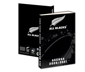 Agenda Scolaire All Blacks 2020/21 Noir