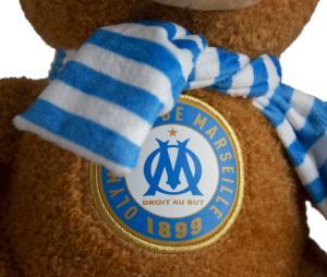OM's teddy bear Brown