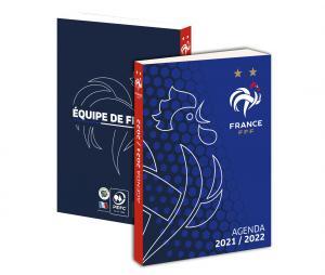 Agenda Scolaire FFF 2021/2022 Bleu